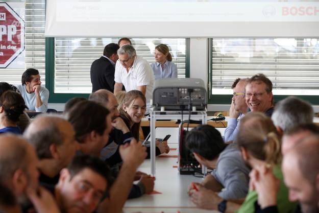 Am Freitagnachmittag fand die vierte Scintilla-Betriebsversammlung statt.