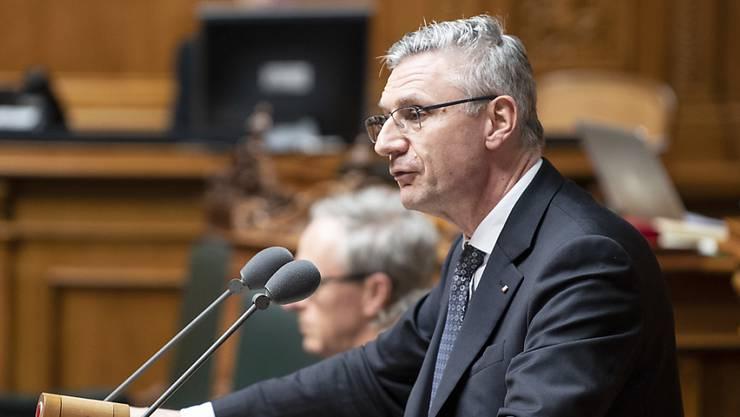 Der SVP-Beauftragte für Asyl- und Migrationspolitik, Andreas Glarner, will Parteipräsident werden. (Archivbild)