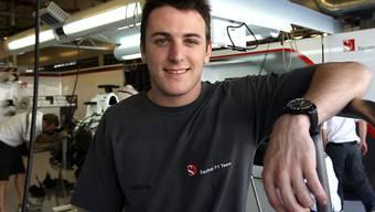 Fabio Leimer wird Test- und Ersatzfahrer bei Manor-Marussia