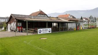 Das Klubhaus wurde auch von Vandalen heimgesucht. (Archiv)