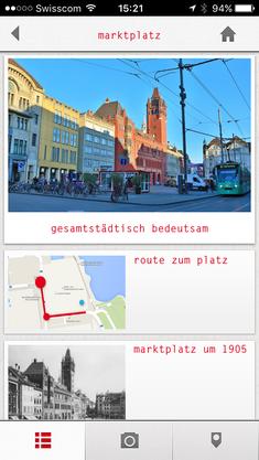 Infos rund um den Marktplatz sind dann beispielsweise verfügbar.