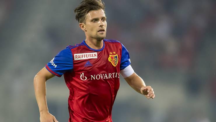 Muss nach seiner Roten Karte im Spiel gegen Servette für vier Spiele aussetzen: FCB-Captain Valentin Stocker