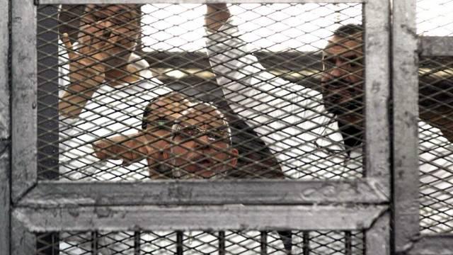 Muslimbrüder vor einem Gericht in Kairo (Archiv)