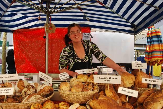 Brote verkaufen sich immer gut, sagt Maryolein van Strijen