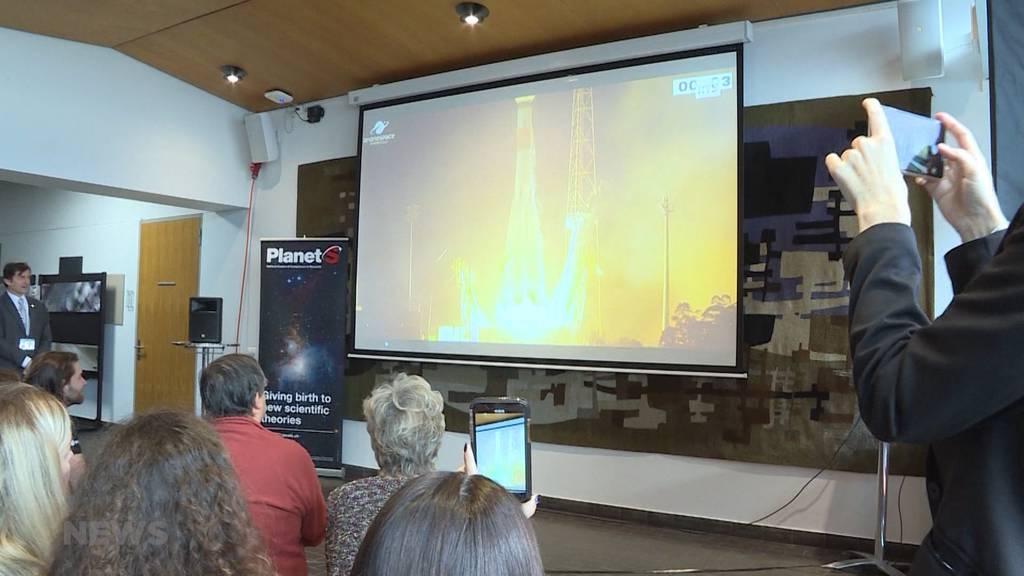 Schweizer Cheops-Rakete erfolgreich gestartet