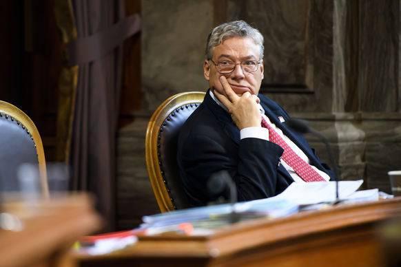 Wurde nicht wieder in den Ständerat gewählt: Filippo Lombardi.
