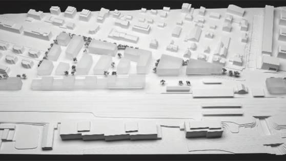 Modell des Gestaltungsplans