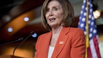Nancy Pelosi, die Vorsitzende des US-Abgeordnetenhauses, kritisierte, Präsident Trump habe die Führungsrolle Amerikas in der Welt untergraben, indem er leichtsinnig mit der Verhängung von Zöllen gegen Mexiko drohte. (Archivbild)