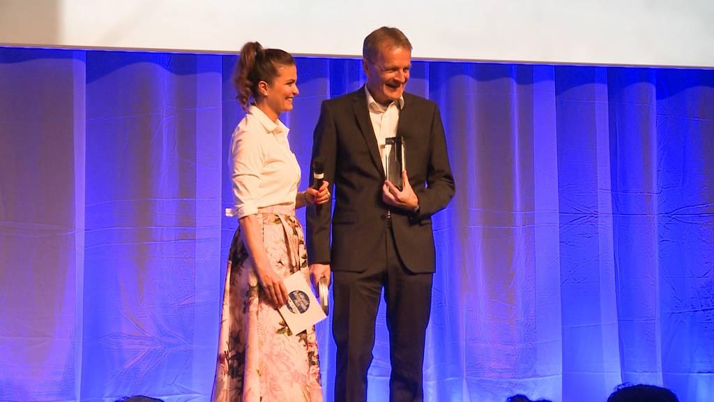 Aargauer Unternehmenspreis für Bertschi AG