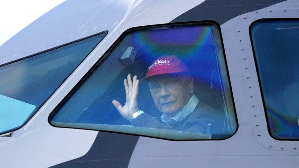 Niki Lauda will seine Fluggesellschaft zurück. (Archiv)