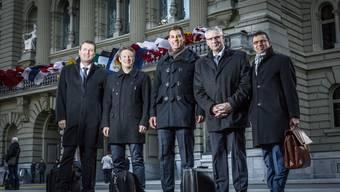 Neue Aargauer Nationalräte in Bern