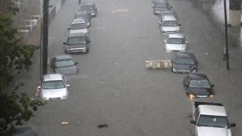 Viele Stadtteile von New Orleans stehen unter Wasser.