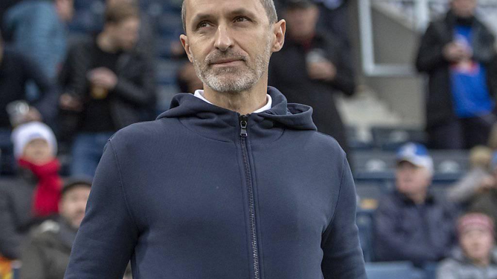 Steht auch in der Saison 2019/20 beim FC Luzern an der Seitenlinie: Thomas Häberli
