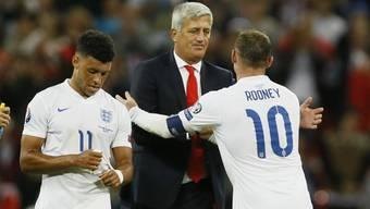Petkovic gratuliert dem Rekorskorer Rooney