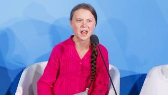 Greta Thunberg bei ihrem emotionalen Auftritt vor der UNO.