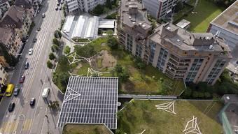 In der Stadt Zürich werden viele Wohnungen gebaut, trotzdem stehen nur sehr weniger leer. (Symbolbild)