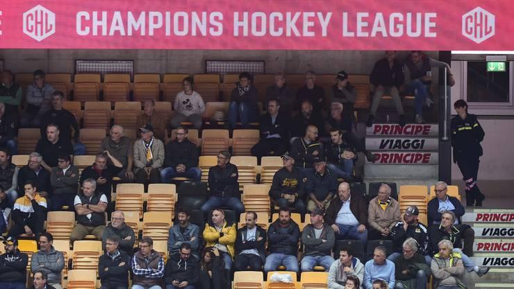 Leere Plätze im Stadion trotz sportlichem Erfolg: Auch in Lugano ringt die europäische Liga um Akzeptanz.