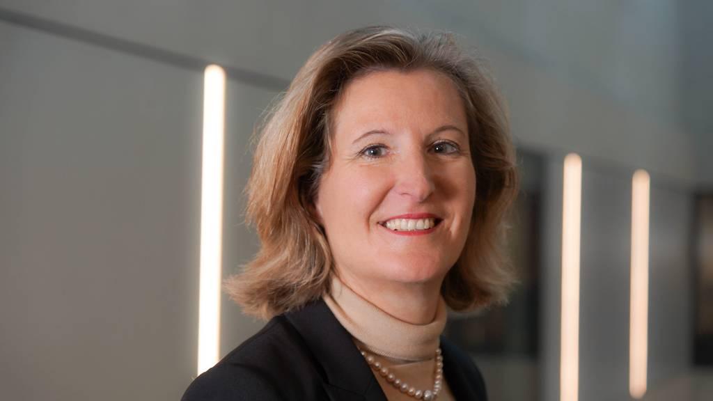 Désirée Baer ist seit März Chefin von SBB Cargo.