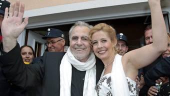 Maximilian Schell und Iva Mihanoic haben geheiratet