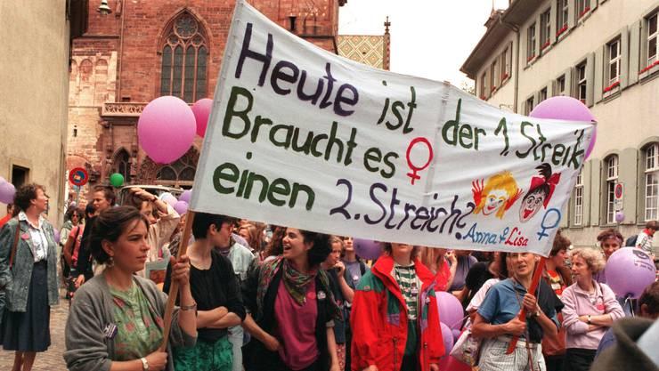 So war die Erstauflage vom 14. Juni 1991. Am 14. Juni 2019 kommt es jetzt zum zweiten Frauenstreik.