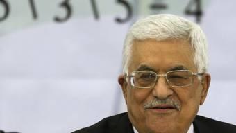 Präsident Abbas ist auch PLO-Vorsitzender (Archiv)