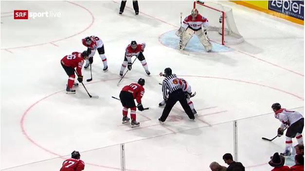Schweizer Eishockeynati im WM-Halbfinal