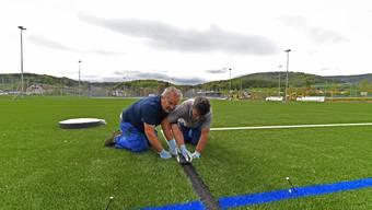 Neubau Sportanlagen Breite FC Erlinsbach 04-2019