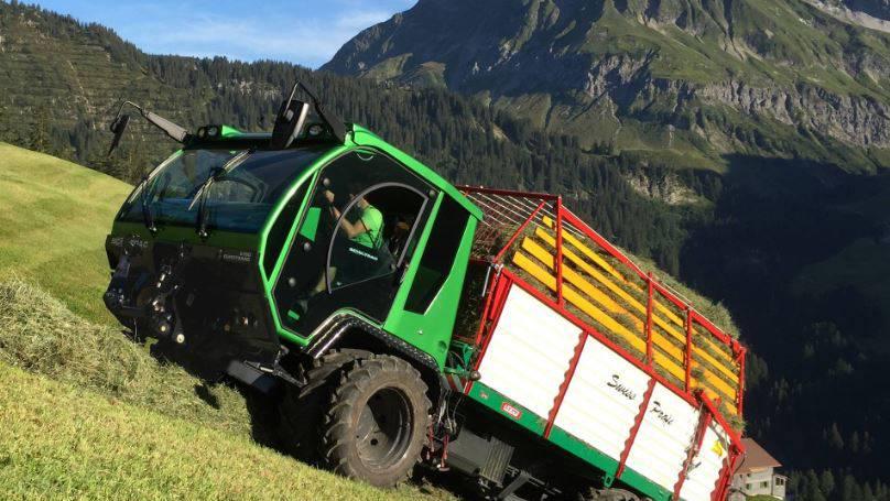 Wie der Alpenporsche von Buochs aus die Schweiz erobert