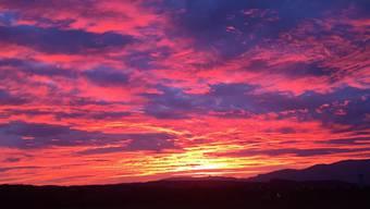 Sonnenuntergänge Oktober 2017