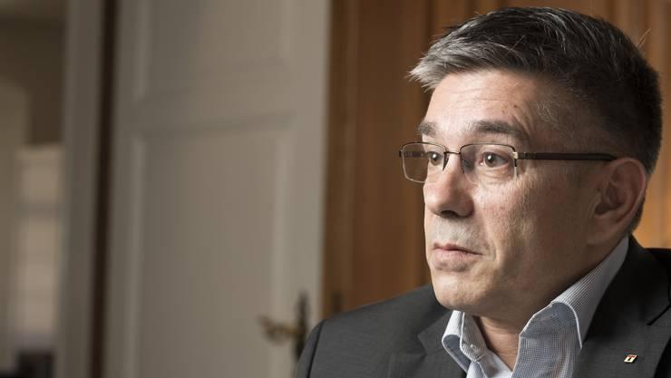 Badens Stadtammann Markus Schneider ist von GE enttäuscht.