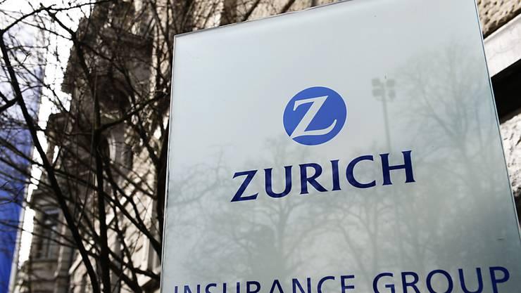 Die Versicherungsgesellschaft Zurich konnte in den ersten drei Quartalen des laufenden Geschäftsjahres die Prämieneinnahmen leicht steigern. (Archiv)