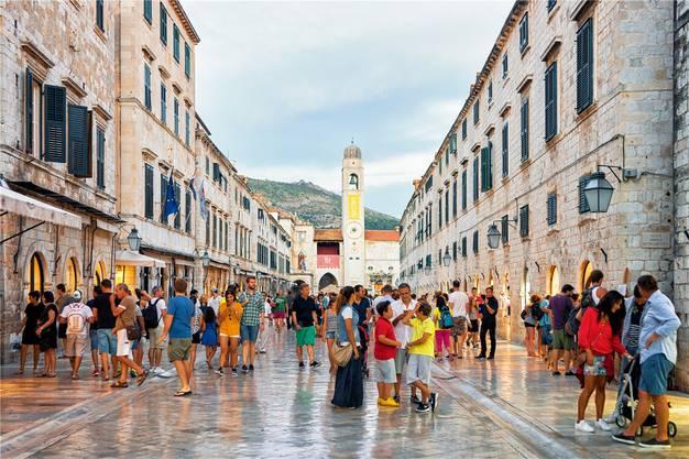 Kaum etwas erinnert in Dubrovnik an die Kriegswirren der 90er. Shutterstock