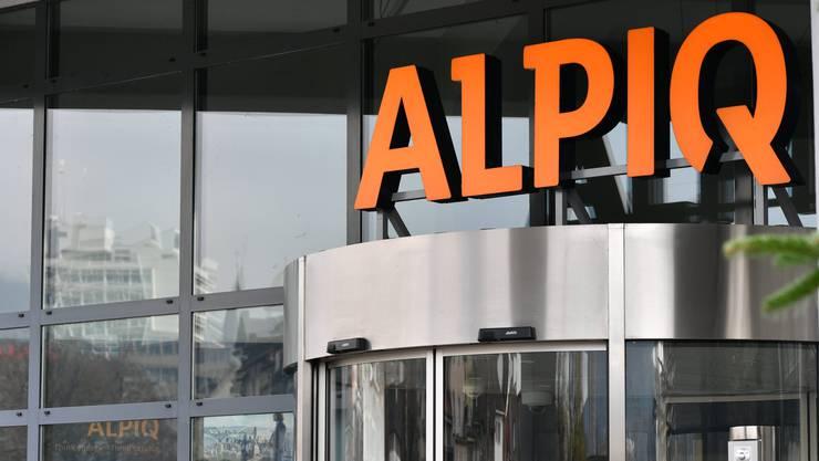 Alpiq weist in seinem Geschäftsbericht 2019 ein Minus auf.