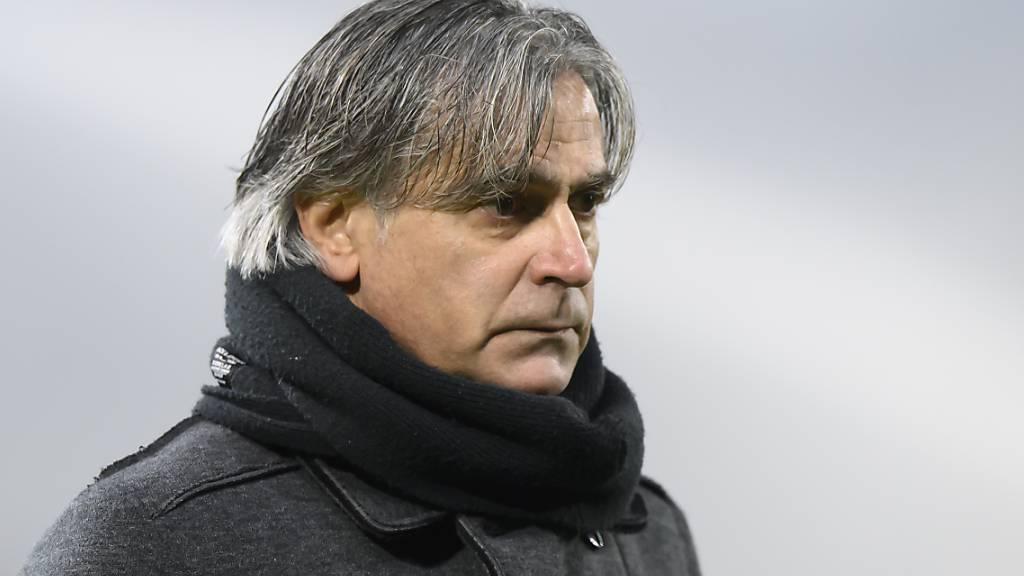 Luganos Trainer Maurizio Jacobacci kann auf eine Verstärkung der Abwehr hoffen