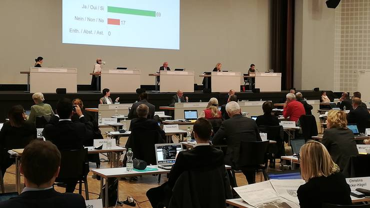 Der Landrat hat nach langem Hin und Her die Schlussabstimmung über das Schwarzarbeitsgesetz verschoben.
