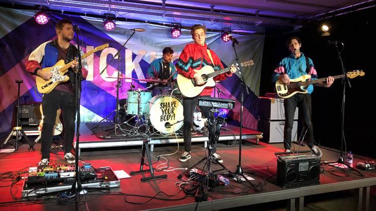 Bei jungen besonders beliebt: Der Zürcher Sänger und Songwriter Nickless und seine Band zählten ebenso zu den Höhepunkten im Programm der ersten Kultursaison.