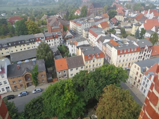 Ein Blick auf Wismar.