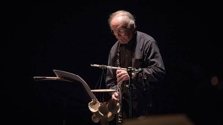 Zum 80. Geburtstag gefeiert als Komponist und Oboist: Heinz Holliger im Moderne-Konzert vom Samstag.