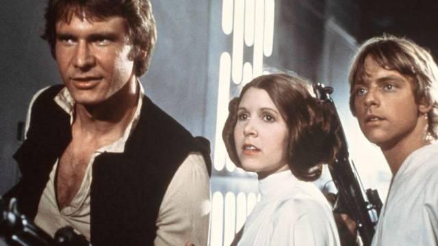 """1977 wurde die erste """"Star Wars""""-Folge gezeigt (Archiv)"""