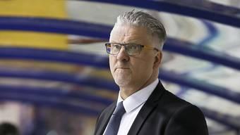 Trainer Per Hanberg verpasste mit Kloten den vorzeitigen Qualifikationssieg in der Swiss League.
