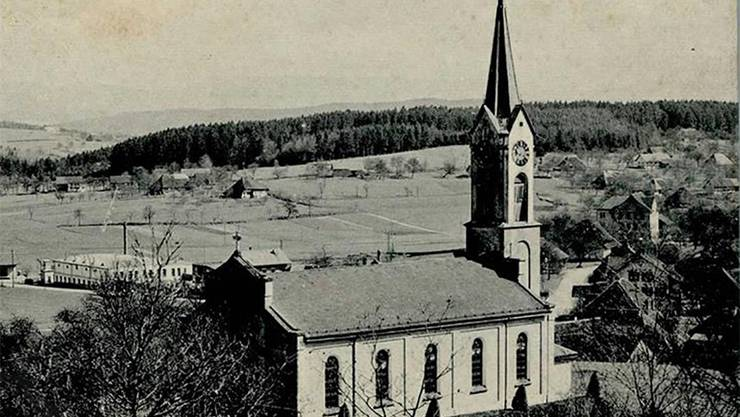 Kirche Safenwil (AG): «Der falsche Prophet ist der Pfarrer, der es den Leuten recht macht.» (Barth in einer Predigt).HO