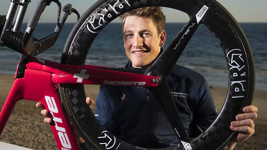 Stefan Küngs Fokus diese Saison richtet sich auf die Klassiker, die Schweizer Rundfahrten und die Tour de France