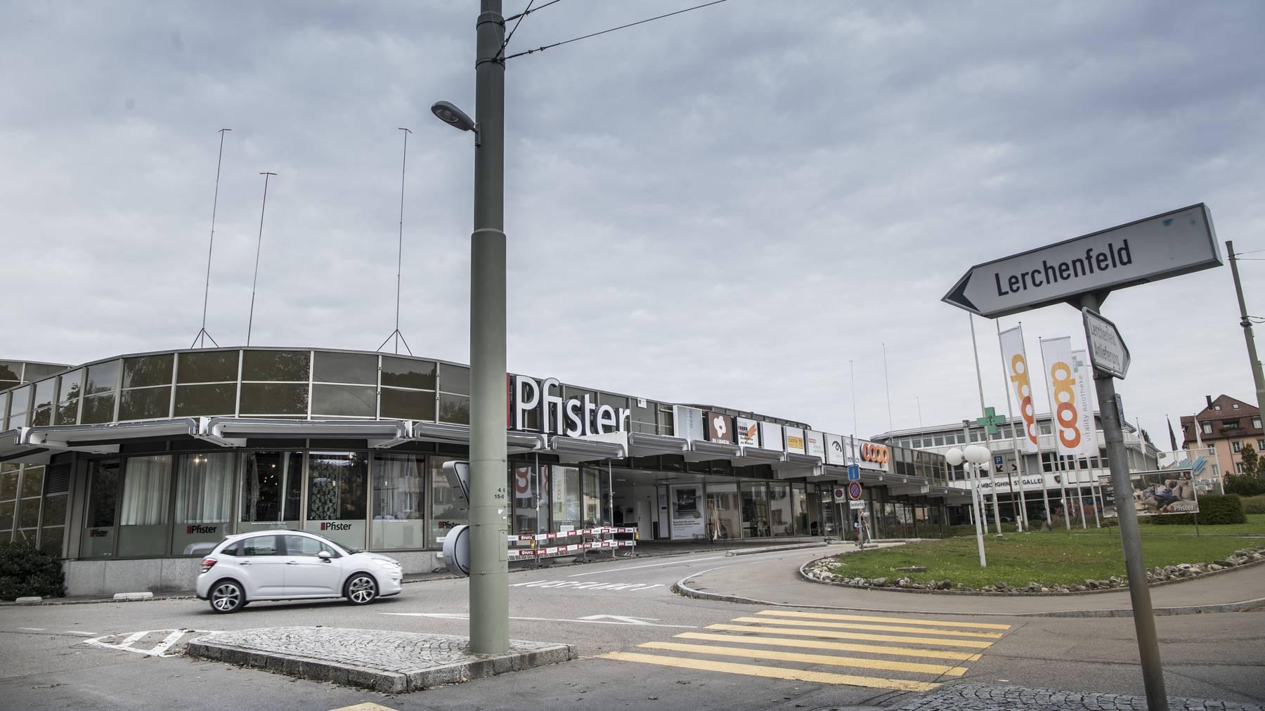 Einkaufszentrum Lerchenfeld