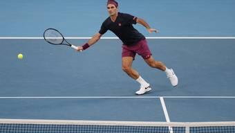Guter Start und dann trotzdem diskussionslos verloren. Roger Federer unterliegt Novak Djokovic in drei Sätzen.