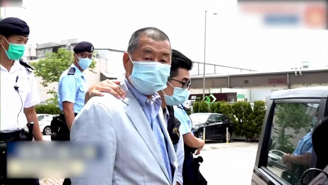 Medienmogul und Aktivist Jimmy Lai in Hongkong festgenommen