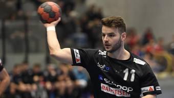 Ist gegen Solothurn gefordert: Ilan Baumann trifft mit dem STV Baden auf die SG TV Solothurn.