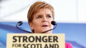 Die schottische Regierungschefin Nicola Sturgeon.