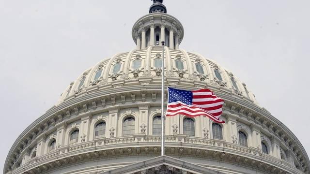 Kapitol in Washington. Die USA ist als Wirtschaftsmacht angeschlagen.