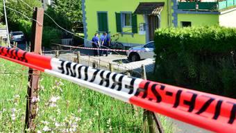 Polizeieinsatz nach Schiesserei in Winznau am 5.Juli 2016