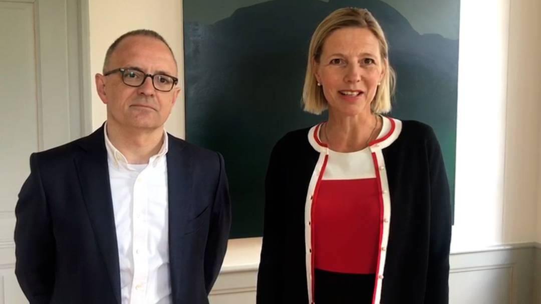 """""""Veranstalten Sie ein Bankett – im Garten"""": Videobotschaft des Aarauer Stadtrats"""
